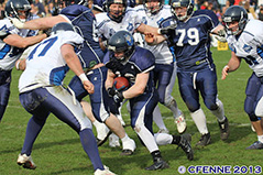 HSV Blue Devils in action - Dentologicum Sponsor der HSV Blue Devils