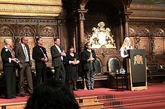Rede von Frau Dr. med. dent. Katy Duesterhoeft vom Dentologicum Hamburg anlaesslich des Senator Neumann Preises 2013