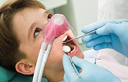 Lachgas Behandlung im Dentologicum Hamburg