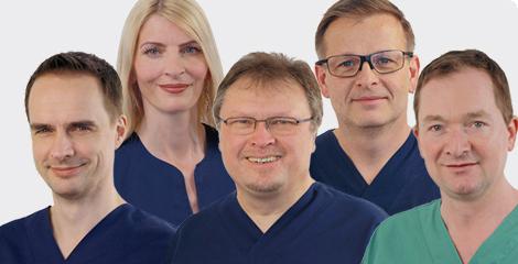 Die Gesellschafter vom MVZ Dentologicum Hamburg