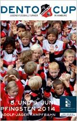 Plakat von Dento Cup 2014 in Hamburg