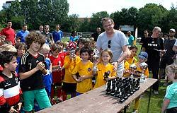 Die Siegerehrung beim Dento Cup 2014 in Hamburg