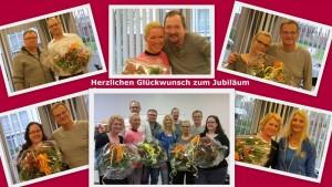 Mitarbeiter Jubiläum am Dentologicum Hamburg
