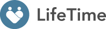 Life Time App - mit weißem Hintergrund