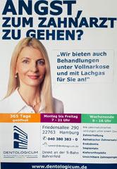 Buswerbung des MVZ Dentologicum Hamburg