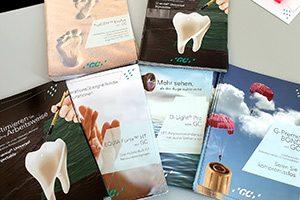 Unterlagen zu neuesten Trends der Zahnmedizin